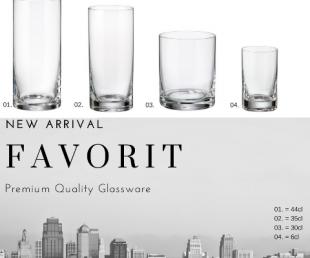 Νέα ποτήρια FAVORIT